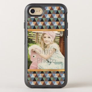 Upload Your Own Photo, Gold Chevron OtterBox Symmetry iPhone 8/7 Case