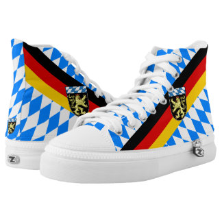 Upper Bavaria Coat of Arms High Tops