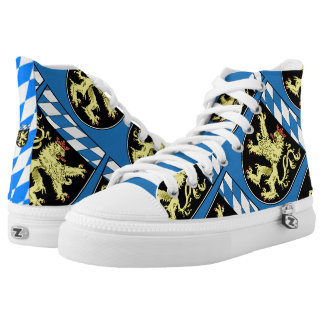 Upper Bavaria State Flag High Tops