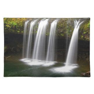 Upper Butte Creek Falls in Autumn Placemat