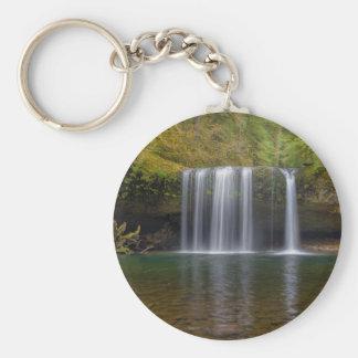 Upper Butte Creek Falls in Fall Season Keychain