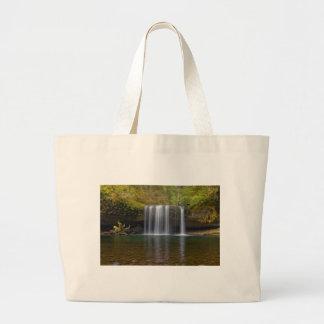 Upper Butte Creek Falls in Fall Season Large Tote Bag