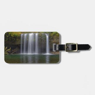 Upper Butte Creek Falls in Fall Season Luggage Tag