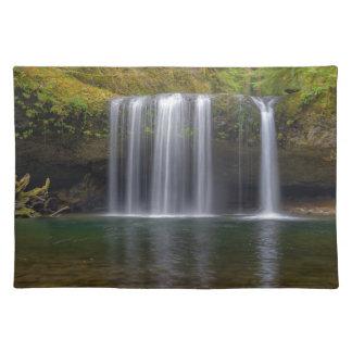 Upper Butte Creek Falls in Fall Season Placemat