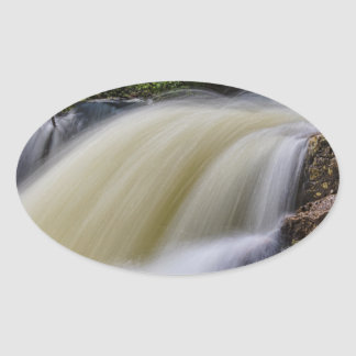 Upper Copeland Falls Oval Sticker