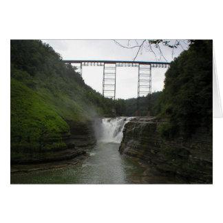 Upper Falls (card) Card