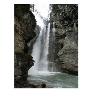 Upper Falls - Johnston Canyon postcard