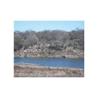 Upper Hillside Dams, Bulawayo, Zimbabwe Canvas Print