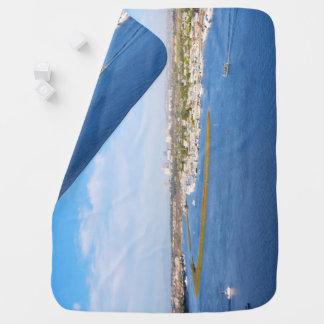 Upper Newport Bay - Back Bay Baby Blanket