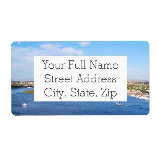 Upper Newport Bay - Back Bay Shipping Label