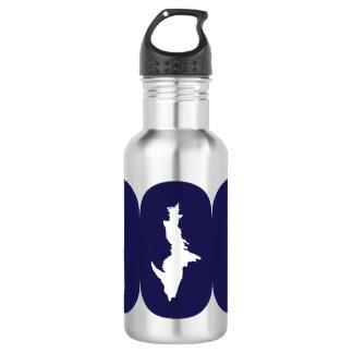 Upper Peninsula 906 (Blue Logo) Water Bottle