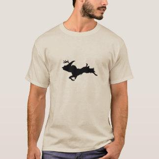 Upper Peninsula Deer hunting Sand colored t-shirt