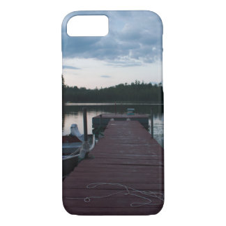 Upper Peninsula Fishing Dock iPhone 8/7 Case