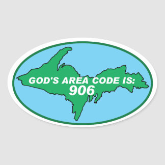UPPER PENINSULA OF MICHIGAN YOOPER STICKERS
