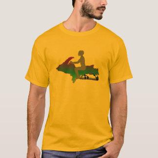 Upper Peninsula Snowmobile T-Shirt