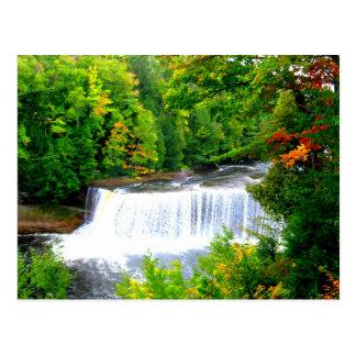 Upper Peninsula Tahquamenon Falls Postcard