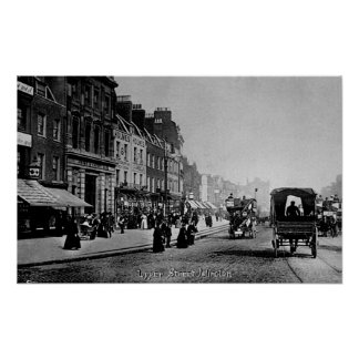 Upper Street, Islington, c.1906 Poster