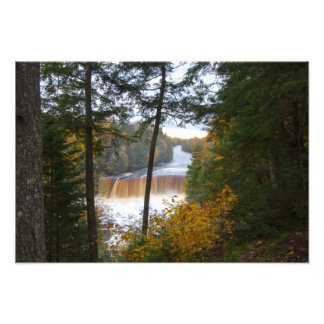 Upper Tahquemenon Falls, Autumn, Michigan Photo Print