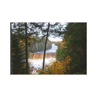 Upper Tahquemenon Falls, Michigan Canvas Print