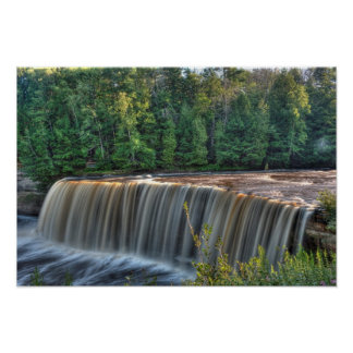 Upper Tahquemenon Falls, Michigan Poster