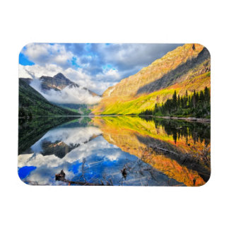Upper Two Medicine Lake at Sunrise Rectangular Photo Magnet