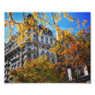 Upper West Side Apartment Building Broadway NYC Photo Print