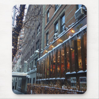 Upper West Side Icicles New York City Winter NYC Mouse Pad