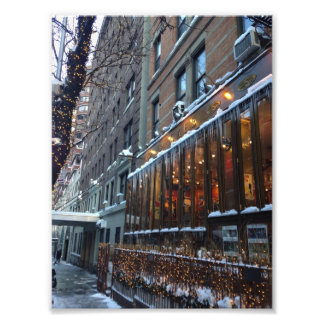 Upper West Side Icicles New York City Winter NYC Photo Print