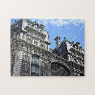 Upper West Side Pre-War Apartment Building NYC Jigsaw Puzzle