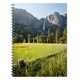 Upper Yosemite Falls Note Book