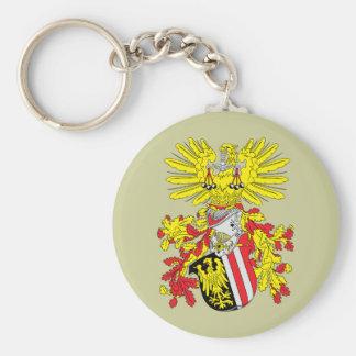 upperaustria, Austria Basic Round Button Keychain