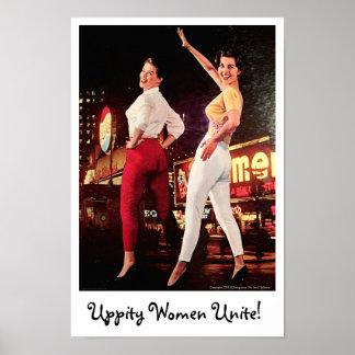 Uppity Women Poster
