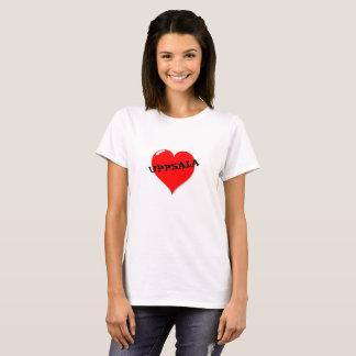 Uppsala over Heart T-Shirt