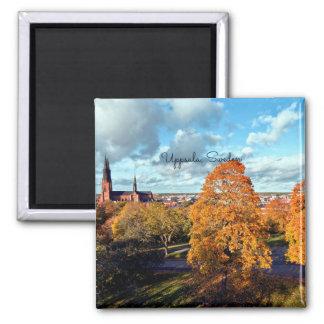 Uppsala, Sweden landscape Magnet