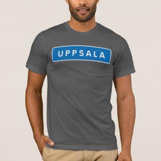 Uppsala, Swedish road sign T-Shirt