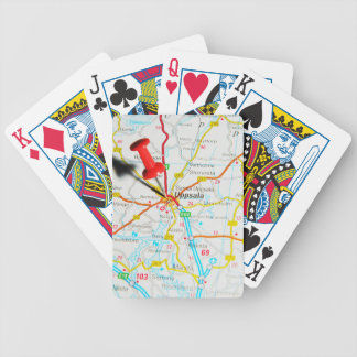 Uppsala (Upsala) in Sweden Bicycle Playing Cards