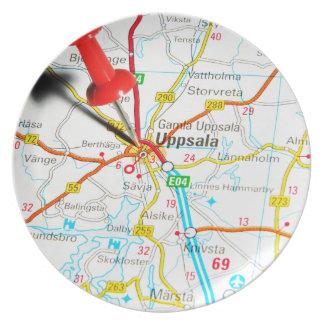 Uppsala (Upsala) in Sweden Plate