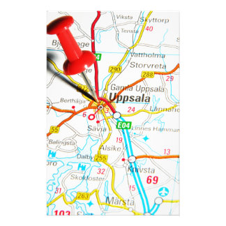 Uppsala (Upsala) in Sweden Stationery