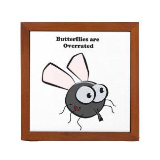 Upset Mosquito Funny Bug Cartoon Desk Organizer