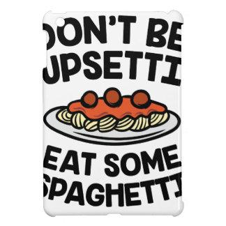 Upsetti Spaghetti iPad Mini Case