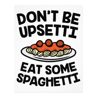 Upsetti Spaghetti Letterhead