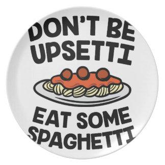 Upsetti Spaghetti Plate