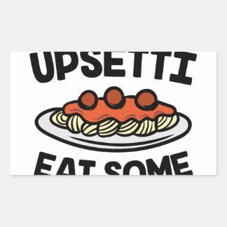 Upsetti Spaghetti Sticker