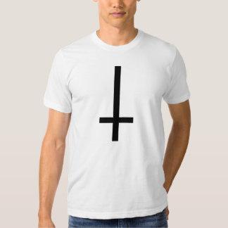 Upside Down Cross Tshirt