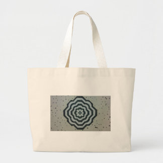 upside down inside out large tote bag