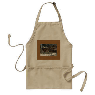 Upside-Down Kitten Standard Apron