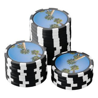 Upside Down LA Palms Poker Chips