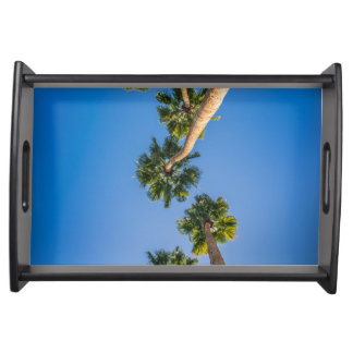 Upside Down LA Palms Serving Tray