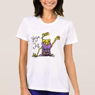 Upside Down Monster -Yoga Joy in Purple T-Shirt