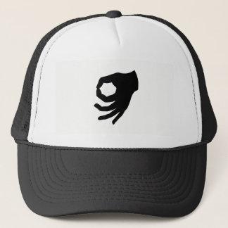 Upside Down Ok Made You Look Trucker Hat